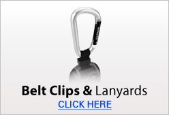 Belt Clips & Lanyards