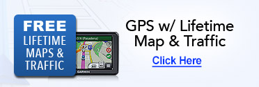 GPS with Lifetime Map & Traffic
