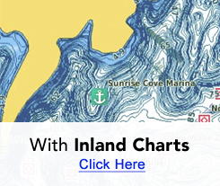 With Inland Charts