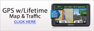 Garmin GPS Lifetime Maps and Traffic Updates
