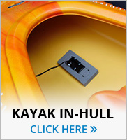 Kayak in hull