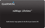 Garmin NuMapLifetime Lifetime Map Update North America 010-11269-00