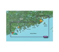 Garmin Northeast United States BlueChart Water Maps garmin 010 C0702 00