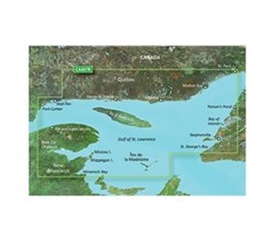 Garmin Canada BlueChart Water Maps Bluechart g2 vision VCA007R Les Mechins to St Georges bay