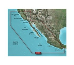 Garmin West Coast United States BlueChart Water Maps Bluechart g2 vision VUS021R California Mexico