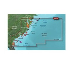 Garmin Northeast United States BlueChart Water Maps garmin 010 C0741 00
