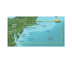 Garmin Northeast United States BlueChart Water Maps garmin 010 C0740 00