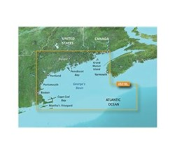 Garmin Northeast United States BlueChart Water Maps garmin 010 C0739 00