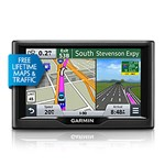 """""""Garmin Nuvi 57LMT (Lower 49 States) Brand New Includes One Year Warranty, Product # 010-01400-02 The Garmin Nuvi 57LMT GPS Navigator features a 5"""""""" dual orientation touchscreen display and comes preloaded with detailed maps of lower 49 states"""