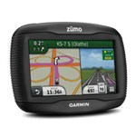 """""""garmin Zumo390lm 4.3"""""""" Motorcycle Gps With Lifetime Map Updates"""""""