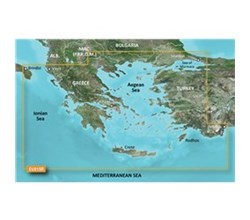 Greece Bluechart Maps garmin bluechart g3 hxeu015r aegean sea and sea of marmara