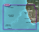 """Garmin Bluechart g2 HAF451S, Nambia To Knysna, SA Brand New Includes One Year Warranty, Product # 010-C0751-20 (microSD/SD Card) Product # 010-C0751-10 (Datacard) The Garmin Bluechart g2 HAF415S navigation software contains information of Southwestern coast of Africa from Cape Ponta-Grossa in Angola through Knysa, S"