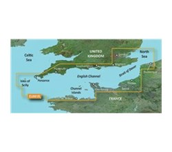 U.K. Bluechart Maps garmin bluechart g3 hxeu001r english channel
