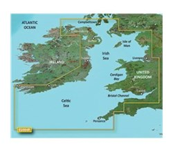 Ireland Bluechart Maps garmin bluechart g2 heu004r irish sea