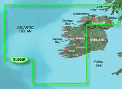 Ireland Bluechart Maps garmin bluechart g2 heu005r ireland west coast