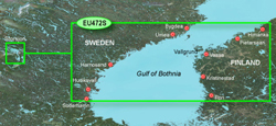 Gulf of Bothnia Bluechart Maps  garmin bluechart g2 heu472s gulf of bothnia center