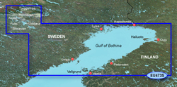 Gulf of Bothnia Bluechart Maps  garmin bluechart g2 heu473s gulf of bothnia north