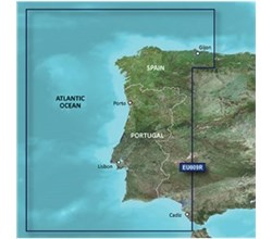 Spain Bluechart Maps garmin bluechart g3 hxeu009r portugal and northwest spain