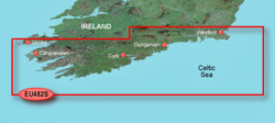 Ireland Bluechart Maps garmin bluechart g2 heu482s wexford dingle bay