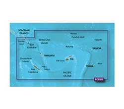 Garmin Polynesia BlueChart Water Maps garmin bluechart g2 hd hxpc018r new caledonia fiji