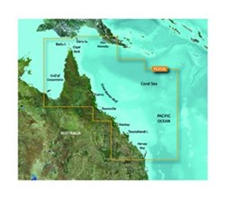 Garmin Australia BlueChart Water Maps garmin bluechart g2 hd hxpc413s mornington island hervey bay