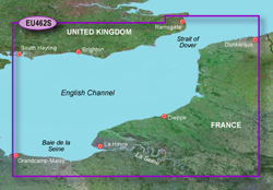 France Bluechart Maps garmin bluechart g2 heu462s english channel east