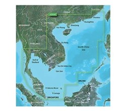 Garmin Asia BlueChart Water Maps garmin bluechart g2 hd hxae004r south china sea