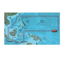 Garmin Asia BlueChart Water Maps garmin bluechart g2 hd hxae005r philippines java mariana islands