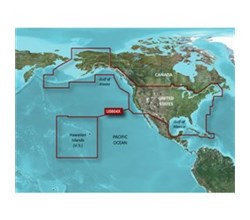 Garmin Alaska BlueChart Water Maps garmin 010 C1018 20