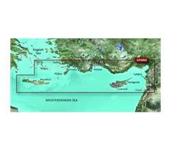 Greece Bluechart Maps garmin vgr506s