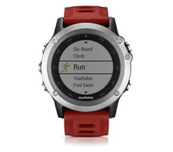 Hiking  garmin fenix3 silver