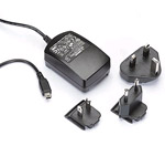 Garmin 010-10723-00 A/C Charger w/ International Adapters