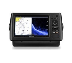 With Coastal Charts garmin echomap chirp 74cv with clearvu transducer