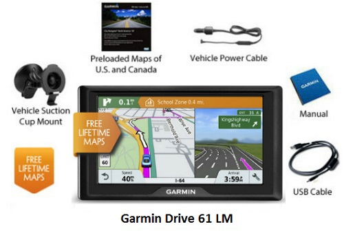 garmin 6 inch gps systems large display navigational factory outlet store