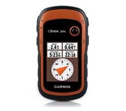 Hiking  garmin etrex 20x