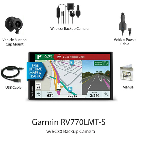 Garmin GPS w Backup Camera