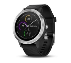 Fitness For Runners  garmin vivoactive 3 black with stainless hardware
