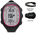 Garmin FR70 Womens Pink Watch with HRM