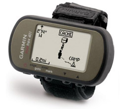 Hiking  garmin foretrex 401