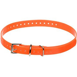 Garmin 3/4CollarStrap- Orange Collar Straps