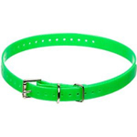Garmin 3/4CollarStrap- Green Collar Straps