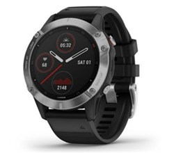 Garmin Fenix 6 Series garmin fenix 6   silver with black band