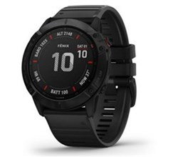 Garmin Fenix 6 Series garmin fenix 6x pro black with black band
