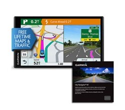 Garmin GPS with Lifetime Maps and Traffic Updates garmin drivesmart 61lmt s north america w city navigator nt europe