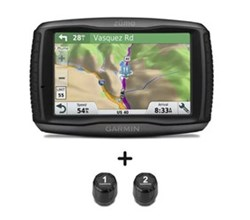 Garmin Zumo GPS garmin zumo 595lm with 2 tire pressure sensor bundle