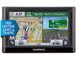 """""""Garmin Nuvi55LMT Brand New Includes One Year Warranty, Product # 010-01198-04 The Garmin Nuvi55LMT GPS Navigator features a 5"""""""" dual orientation touchscreen display and comes preloaded with detailed maps of the lower 49 states"""