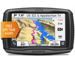 Garmin Zumo590LM 5 Inch Motorcycle GPS with Lifetime Map Updates