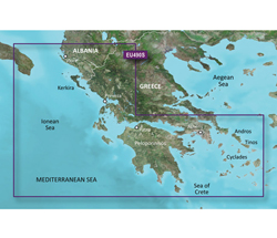 Greece Bluechart Maps garmin 010 c0834 00