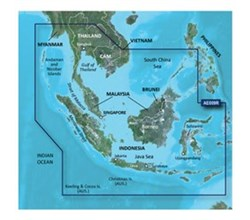 Garmin Asia BlueChart Water Maps garmin hae009R sin mal indonesia