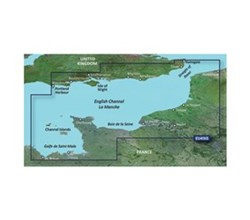 U.K. Bluechart Maps garmin bluechart g3 vision veu456s english channel central east